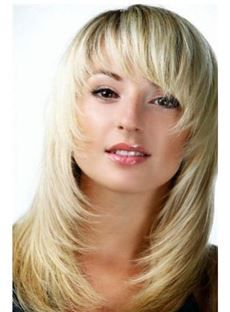 25 trending feathered hairstyles ideas on pinterest layered medium choppy layered cool straight natural unique high quality synthetic hair wig 14 inches urmus Images