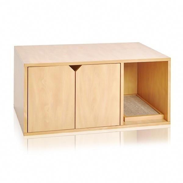 Cat Litter Box Enclosure Natural Pre Order Ships 4 27 Natural