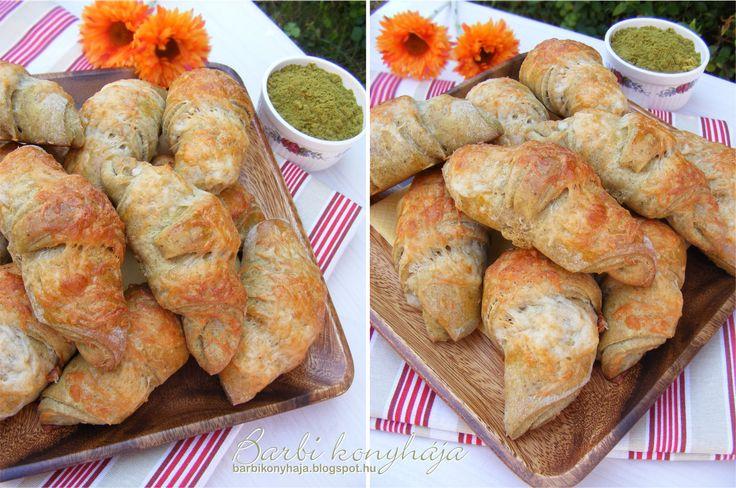 Barbi konyhája: Expressz Croissant tökmagliszttel