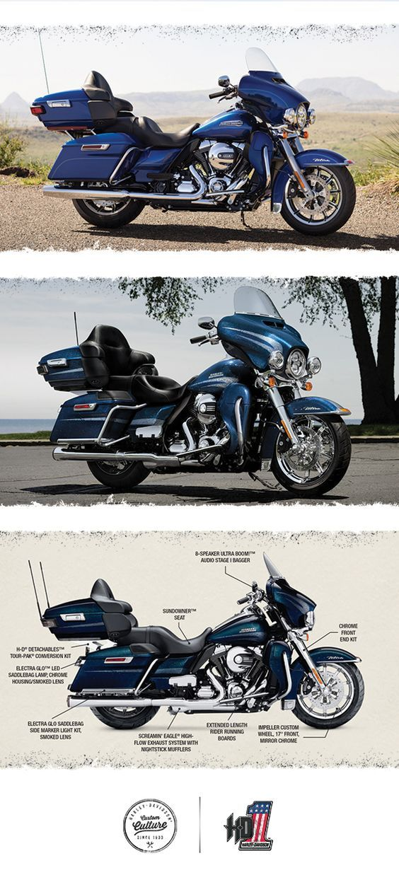 There are absolutely no limits to how far you can go or how good it's all going to feel. | 2016 Harley-Davidson Ultra Classic
