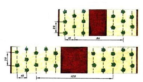 Схемы посадки клубники: Сад