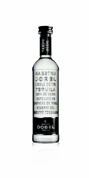 """Maestro Dobel Tequila is sourced from single estates, distilled from 100% blue agave and bottled in Jalisco, Mexico. Each bottle of Dobel Tequila is double-distilled, matured in Hungarian White Oak barrels, and filtered for exceptional smoothness and clarity. This tequila is recognized for its superior smoothness and iconic packaging."" – Distiller's notes"