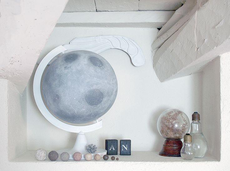 miramira : Cambiando el mundo / DIY Luna #moon #luna #lluna #DIY #decor #vintage
