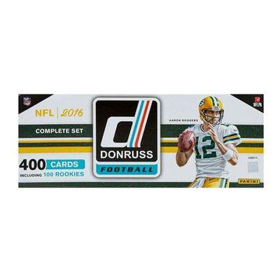 2016 Donruss Football Complete 400 Card Factory Set