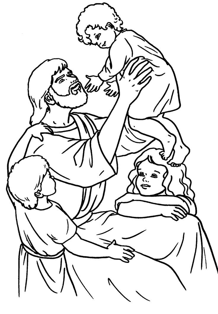 Pin on Bible New Testament colouring pages