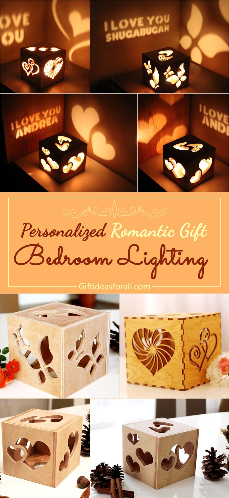Personalized Romantic Bedroom Lighting Gifts Giftideas Romanticgift Giftforher Birthdaygift