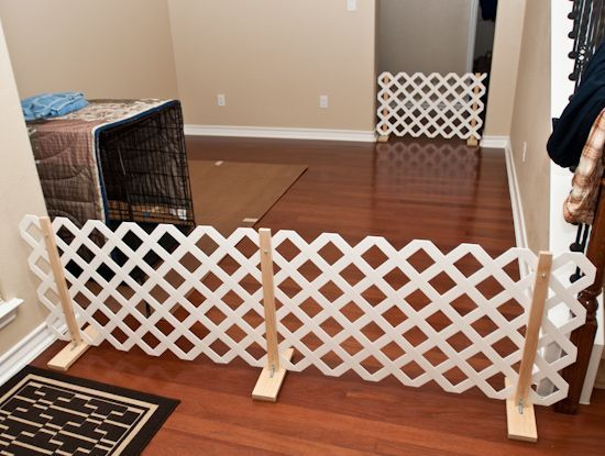 pvc free standing gated fence diy - Google Search