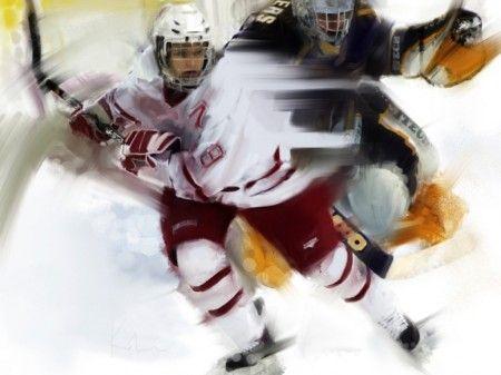хоккей действия