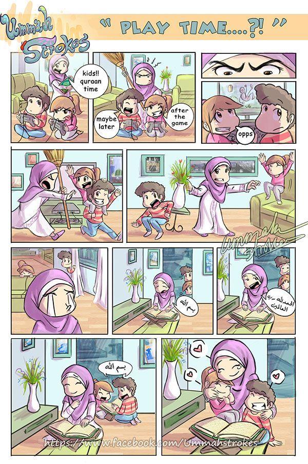 Ummah strokes tiny comics on Behance