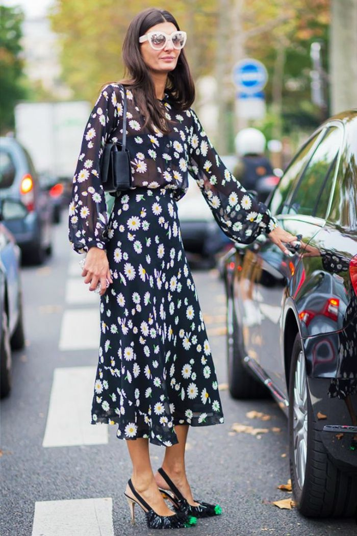 20726bbd7e2 ▷ 1001 + idées comment porter la robe longue manche longue