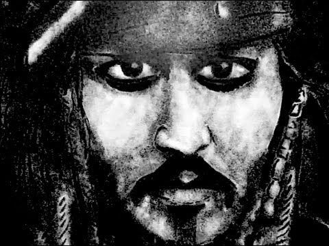 And for you Johnny Depp lovers out there...Art With Salt - Captain Jack Sparrow