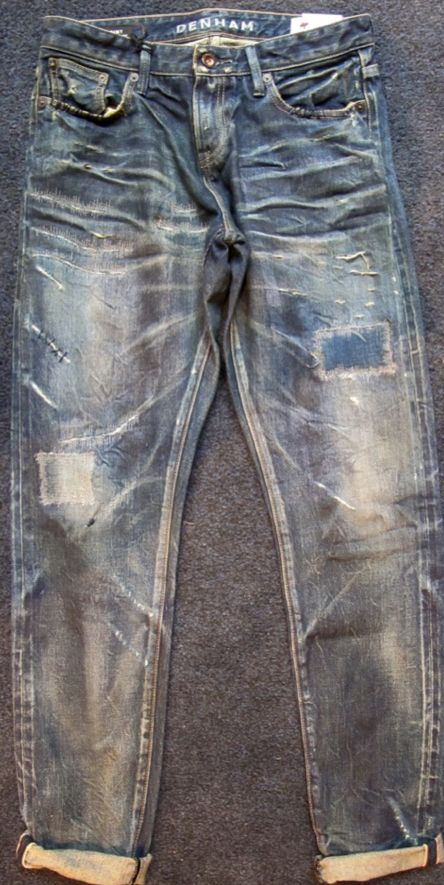 #man #denim #jeans #laundry #denimwash #slim #guys #vintage