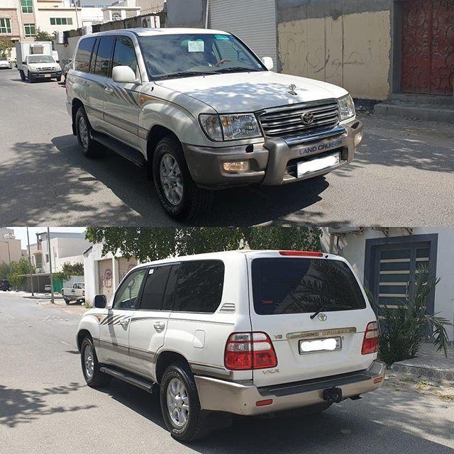 للبيع لاندكروزر موديل 2003 وكالة البحرين Vxr كراسي مخمل بدون فتحة بحالة ممتازة جدا بدون مشاكل ماشي 240 الف تأمين وتسجيل إلى 8 2020 السعر 4200 د In 2020 Car Suv Suv Car