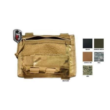Tactical Assault Gear MOLLE Admin Rampage Pouch, Coyote Tan, Zip Closure 812327 - Walmart.com $32.54