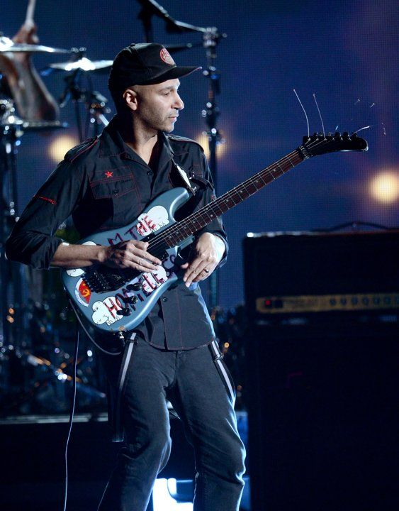 Tom Morello, not just for his musical skills, but mostly for his advocacy of the working class world.