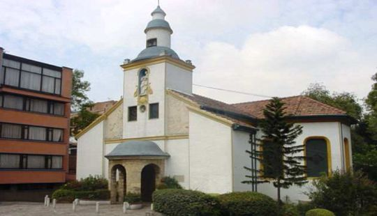 Iglesia Santa María de Los Ángeles | Bogotá Turismo