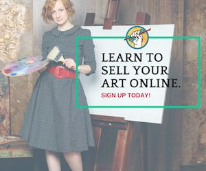 Learn to sell  your art online! #artist #marketing #art