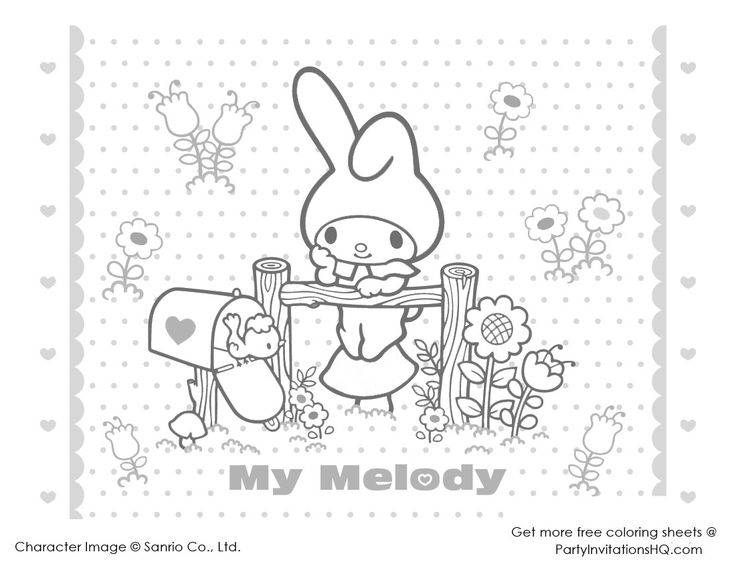 httppartyinvitationshqcomwp contentuploads2012 - Kawaii Coloring Book