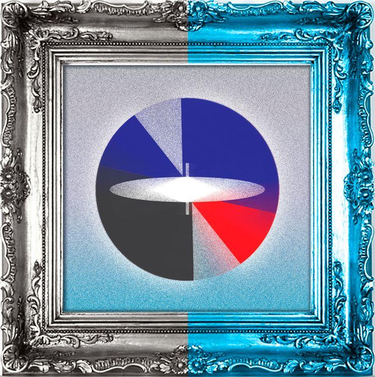 """""""existir"""" by Amel Segré. Exciz6, la dimensión geométrica. #abstrac #art #conceptual"""