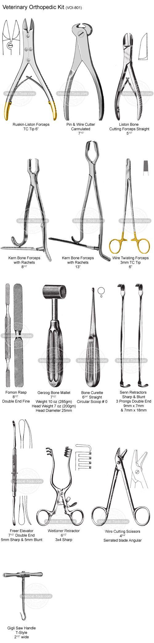Veterinary Orthopedic Kit Veterinary Instruments Medical Tools Shop
