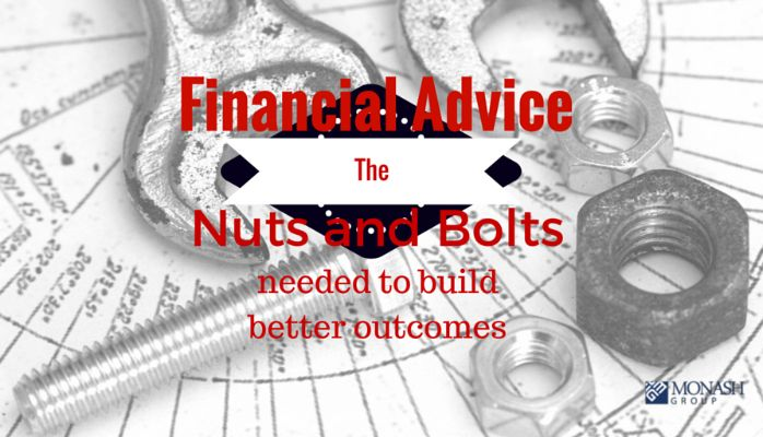 Financial Advice - The nuts and bolts needed to build better outcomes.   #Toowoomba #lifeinsurance #financialadvice