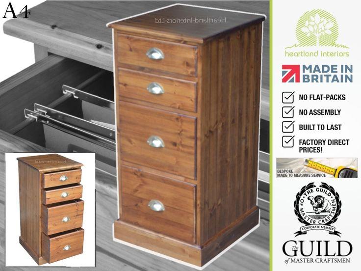 handcrafted traditional split 2 2 drawer filing cabinet redwood pine https