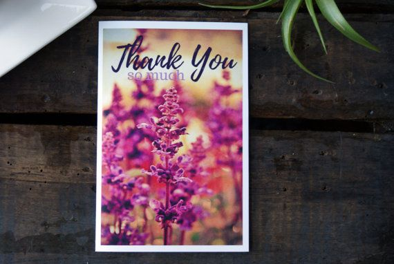 Say thank-you with this vibrant floral greeting card! Perfect for Mothers Day, a hostess, teacher or any other occasion! $2.50 paperbirchart.etsy.com or https://www.facebook.com/paperbirchart/