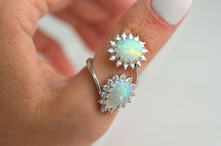 Custom Opal Ring.
