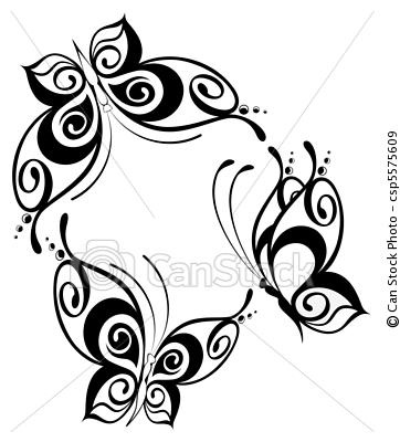 Vector - The beautiful butterfly - stock illustration, royalty free illustrations, stock clip art icon, stock clipart icons, logo, line art, EPS picture, pictures, graphic, graphics, drawing, drawings, vector image, artwork, EPS vector art