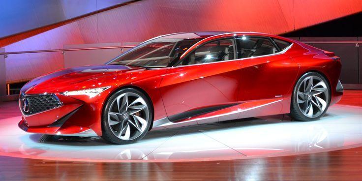 The Acura Precision Concept Is The Future Of Acura Detroit Auto Show Acura Concept Cars