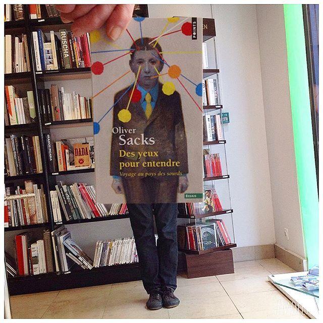 #deslibrairesàvotreservice avec Oliver Sacks, Des yeux pour entendre, éd. Points @editionspoints #livre #book #buch #libro #livro #bok #книга #本 #책 #kitap #librairie #کتاب #bookshop  #librairiemollat #mollat #bordeaux #igersgironde #الكتاب #bookface #sleeveface