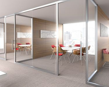 its seamless connections maximize natural light for brighter more efficient spaces while providing visual unification between architecture and amusing create design office space