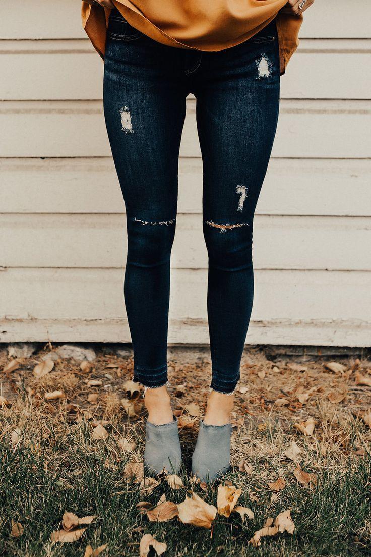Nixon Fray Skinnies | ROOLEE