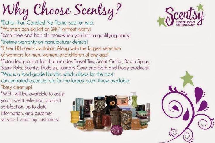 Why Choose Scentsy??  RaeAnn 270-872-3378 https://RaeAnn.Scentsy.us https://fb.com/RaeAnn.Scentsy