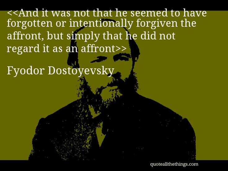 fyodor dostoyevsky genius or not It helps middle and high school students understand fyodor dostoevsky's literary masterpiece  actually, the best way to read crime and punishment is to not only feel all that  in short: the characterization in this novel is flat-out genius.