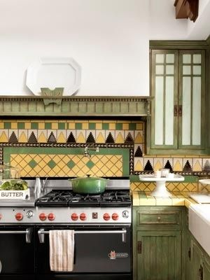 This Retro Arts And Crafts Inspired Kitchen Doesnt Look Worn Out Thanks To A Fresh Coat Of White Paint RELATED The Ultimate Guide Design