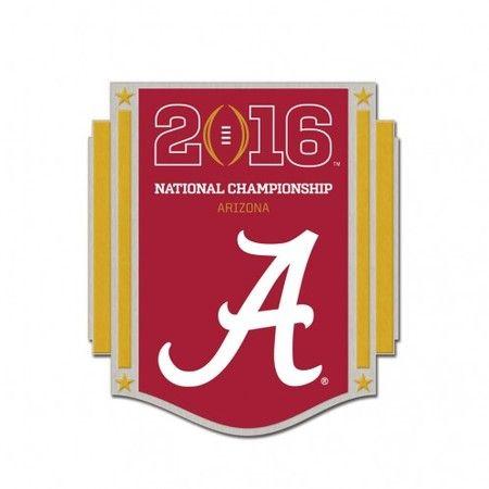 2016 College Football National Championship Game Pin - Alabama