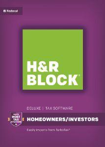 H&R Block 2016 Deluxe - Windows [Digital Download]