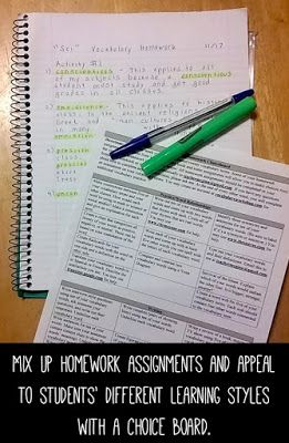 learning styles 3 assignment Providing the right environment conducive to learning  learning styles  delineated lesson that provides the objective and systematic steps to do the assignment.