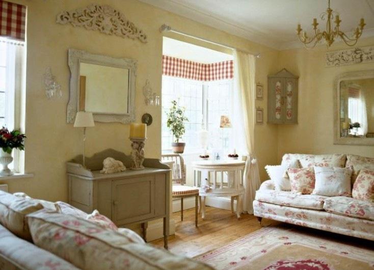 case in stile shabby come dipingere il frigo in stile