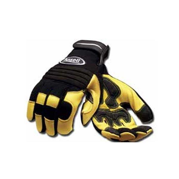 Ansell Lederhandschuhe Heavy Duty - GenXtreme #Leder #komfortabel #halbar # hirschleder #protektor