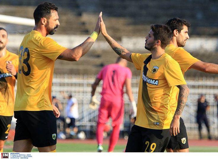 Η ΑΕΚ έδωσε άλλο ένα φιλικό αυτή τη φορά στα Τρίκαλα, κερδίζοντας την τοπική ομάδα με 1-2. Τα γκολ για την ΑΕΚ πέτυχαν οι Αλμέιδα και Πατίτο, οι οποίοι σκόραραν τα πρώτα τους γκολ με την φανέλα της ΑΕΚ.