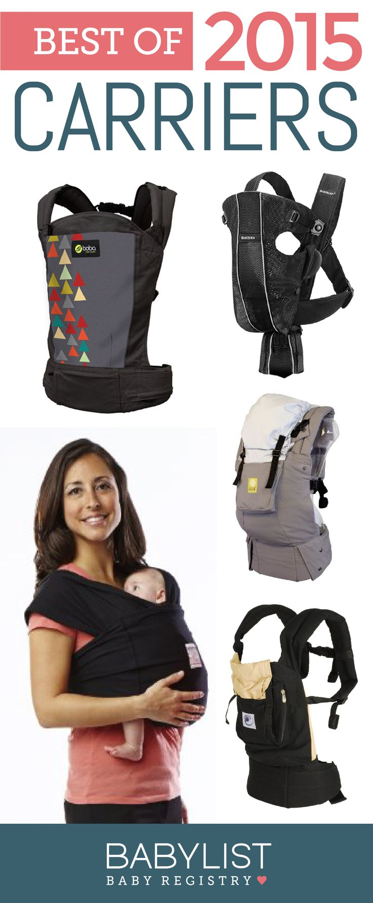 Need a some advice to help you pick the best baby carrier? Here are the 5 best carriers of 2015 - based on our own research + input from thousands of parents. There is no one best baby carrier. Every family is different. Use this guide to help you figure out the best carrier for your family's needs and priorities.