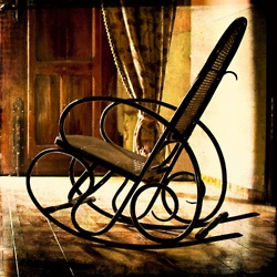 I treasure my old Bentwood rocker.   I rocked all my babies in it......the emptiness of a rocking chair.....