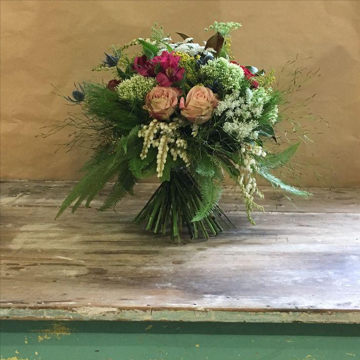 Romantic flower bouquet #rosesandmore #lesanssouciflowerstoowoomba
