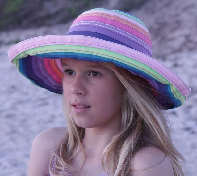 Sarah hat for children #fashion #style #sunprotection