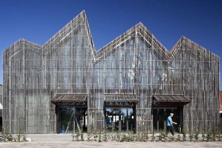 Kaap Skil, Maritime and Beachcombers' Museum Wins Daylight Award 2012 / Mecanoo Architecten, Texel, Netherlands