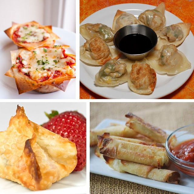 how to make wonton wrappers for soup