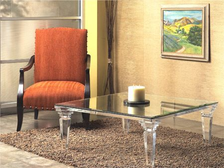 CLASSIC COFFEE TABLE By Shahrooz Shahrooz Art.com   #AcrylicFurniture,  #LuciteFurniture