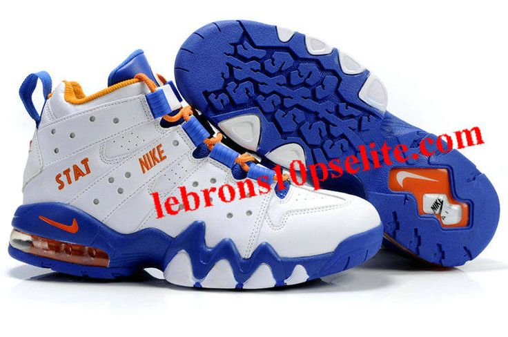 Charles Barkley Shoes - Nike Air Max2 CB 94 Blue/White | Charles Barkley  Shoes | Pinterest